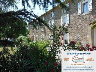 Meuble de tourisme 4* Domaine 'La Campanette' Au ceour du Pays  Cathare!