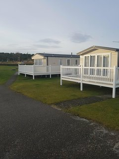 3 bedroom caravan at Pardean Resort