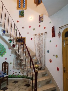Shared Stairs to Terrace