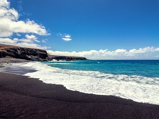 Luxury Villa! Playa La Arena! Black Sand Beach!