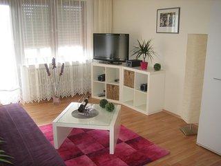 Obergeschoss (45 qm) im Apartmenthaus-Abendsonne - Haus mit 5 Ferienwohnungen