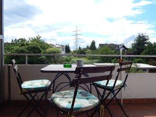 kleines Dachgeschoss (45 qm) im Apartmenthaus-Abendsonne, Haus mit 5 FeWos