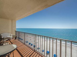 Amazing Beach Front Gulf Views ~ Las Brisas 506