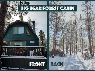 Nature Lovers! Mod-Rustic Cabin Backs to Nat'l Forest+trails, Close to resorts!