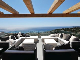 164 designvilla with panoramic sea view,airconditioning, pool 10 x 5, beach 2km