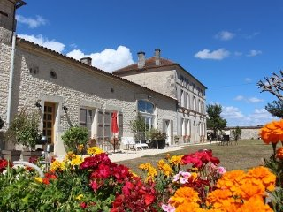 Luxury 4* gite with heated pool close to Cognac