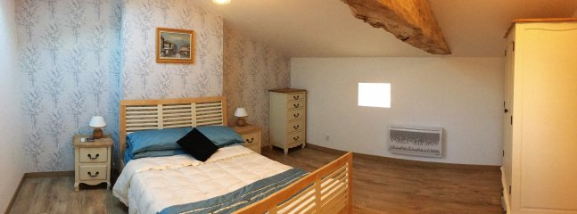 double bedroom with ensuite shower and WC