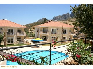 3 bed mansion apartment with pool in edremit, kyrenia