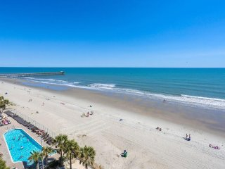 Direct Beach Front Ocean Views 1BR/1BA with Garden Jet Tub
