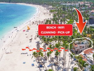 ★★★★★ Beachfront Ocean view Villa WiFi Pickup