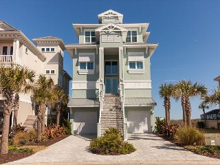 NEW-DIRECT OCEANFRONT Tri-Level Dream Home in Cinnamon Beach!! A Must Stay!!