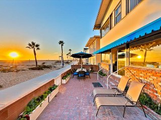 Oceanfront House on Boardwalk w/ Outdoor Living, Sunset Views & Close to Town