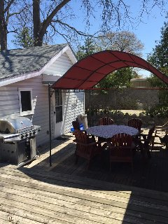 1 Bedroom with loft Grand Bend cottage for rent