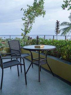 Bedroom garden balcony