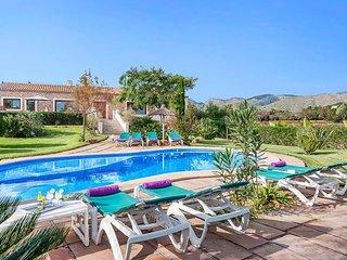 4 bedroom Villa in Port de Pollenca, Balearic Islands, Spain : ref 5334651