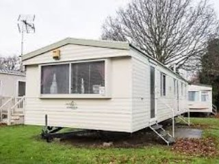 2 Bedroom Caravan with a pull out sofa.