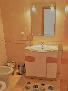 Large wash basin & bidet