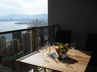 Apartment Cielo, superb sea, beach and island views from this lovely apartment