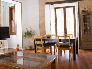 Maison, 2 appartements, 4 chambres, 12 couchages, terrasse, Centre historique