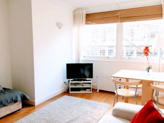 Fab Fitzroy Street, W1 2-bed Near Oxford Street : Wifi. King Bed