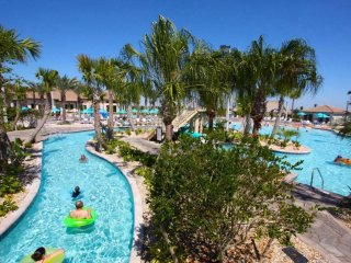 N10 - Disney Villa * ChampionsGate w/ Pool WaterPark Gym Golf 9BR/5bath Sleep 22