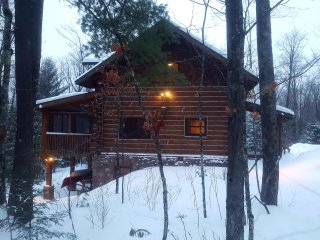Cabin on the Bike and XC Ski Trails