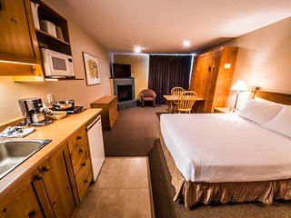 Superior Room + Kitchenette at the Inn at Big White, BC