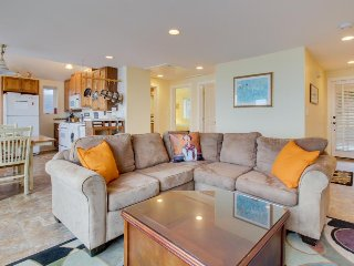 Beautiful ocean views with private patio & dog-friendly!