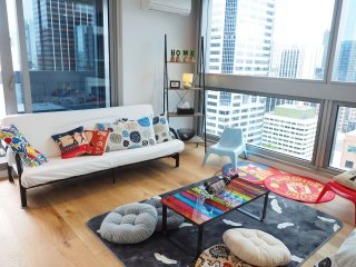 FreeParking Stunning View Deluxe Apartment CBD