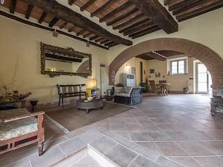 Charming, very spacious & best located in Tuscany: House La Fonte
