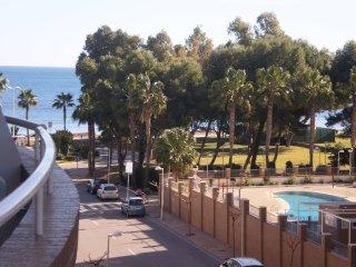 Apartamento comodo y moderno 1ª línea de playa, Ampliares, orientación Sur