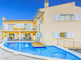 4 bedroom Villa in Port d'Alcudia, Balearic Islands, Spain : ref 5487984