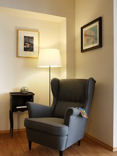 Relaxing corner in the living area