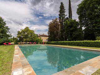 Villa Lenka. Majestic frescoed rooms,own lake,pool, gym,airconditioning,wifi.