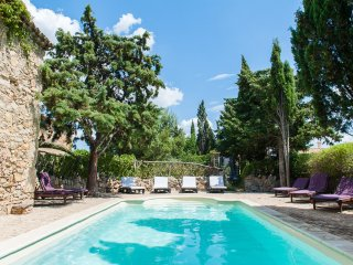 Charming Gite w private terrace shared heated pool (2 other gites) in Corbieres