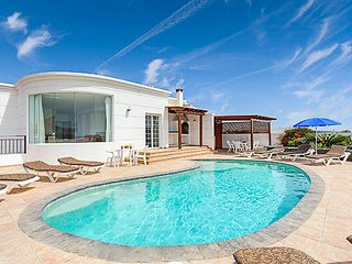 5 bedroom Villa in Puerto Calero, Canary Islands, Spain : ref 5334252