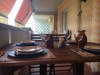 5 posti letto ristrutturato con terrazza pranzabile e posto auto