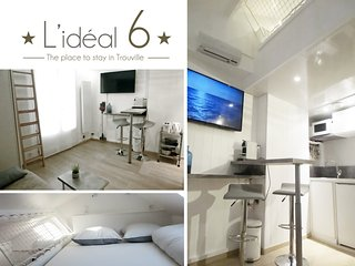 L'IDEAL 6** : STUDIO OPTIMISE (casino a 50m et plage a 150m)