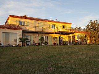 Grande villa dans le lauragais