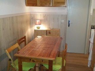 Studio cabine 30m2 avec balcon-véranda sud