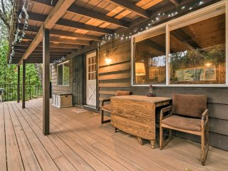NEW! 3BR Kyburz Cabin w/Deck, Near River & Hiking!