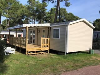 Mobil-home neuf 6/8 personnes gamme excellence camping Siblu **** Les Mathes