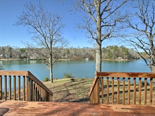Lakefront Charlotte Cabin w/ Deck & Fire Pit!