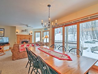 NEW! 3BR Ski-In/Ski-Out Condo in Jay Peak Resort!