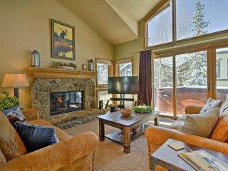 NEW! 3BR Breckenridge Ski Townhome w/Hot Tub