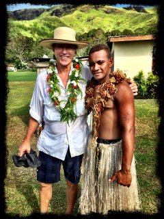 Entertainers can be hired for a Kava ceremony or Mecca!