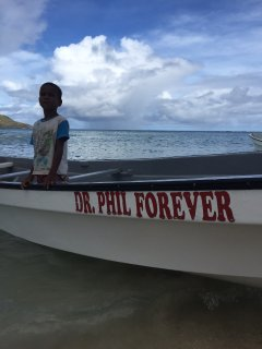 "The ""Dr. Phil Forever"" boat will meet you off the Flyer, your SeaPlane or Cruise Ship!"