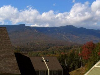 3BR, 3BA Overlook at Topnotch Resort & Spa with Fantastic View of Mt. Mansfield!