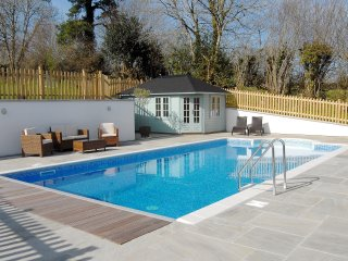 Our 5x10m pool - included with all lets from May to October