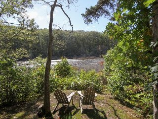 Wooded 3BR, 2BA Chatham Home on the Monomoy with Hot Tub & Kayak Launch